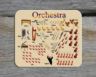 Mouse Pad - Orchestra