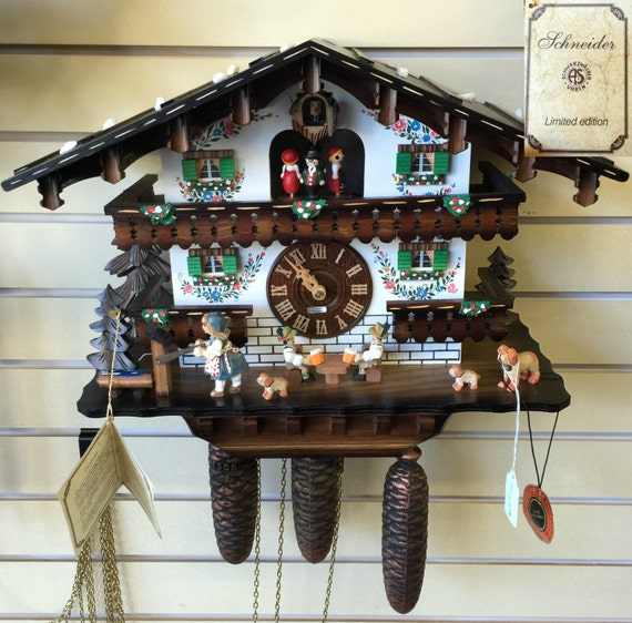 Anton Schneider Oringinal Black Forest Cuckoo Clock
