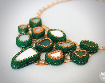 "Beaded necklace ""Salerno"""