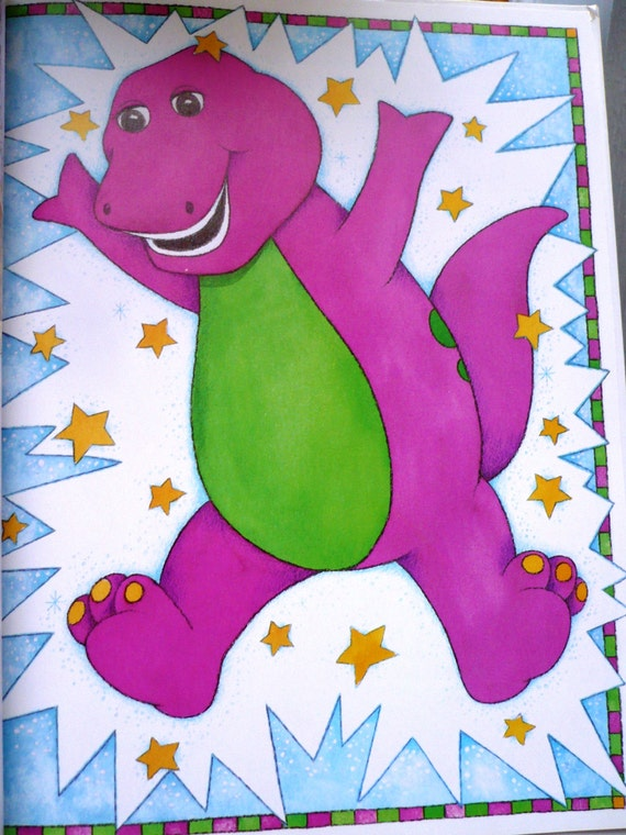 Just Imagine With Barney Children S Book Collector S