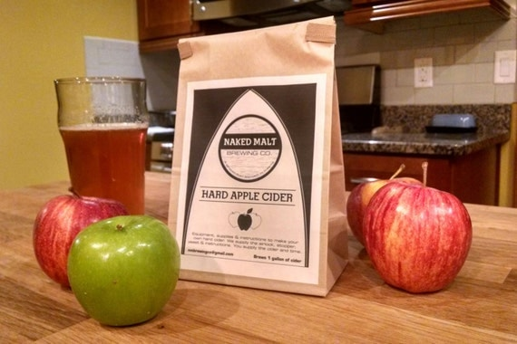 SPICED Hard Cider Kit - just add your favorite apple cider!