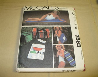 McCall's Pattern #7583 - Picnic Package
