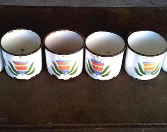 vintage mugs glazed