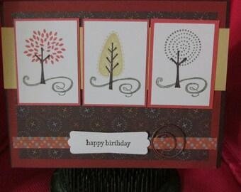 Happy Birthday Card Set of 8