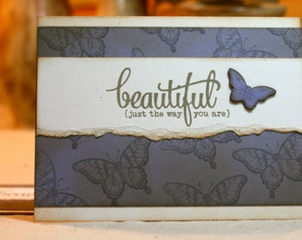 Handcrafted Encouragement Card