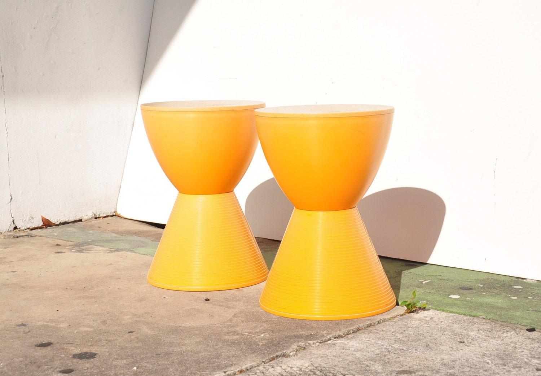 Philippe Starck For Kartell Prince Aha Stool Haute Juice