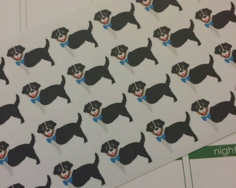 Australian Shepherd Stickers! Dog Stickers! Perfect for your Erin Condren Life Planner, calendar, Paper Plum, Filofax!