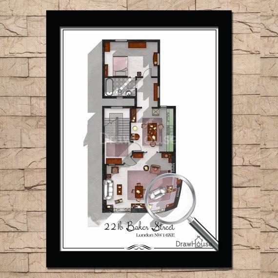 221b Baker Street Layout 221b Baker Street London
