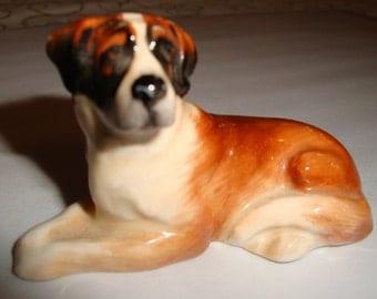 Vintage St Bernard figurine by Royal Doulton, K19