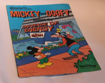 Vintage 1985 Epcot Universe of Energy comic book