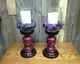 Candle Holders,segmented turnings,wood candle holders,handmade candle holders