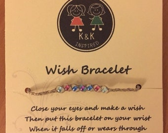 Bead Mix Wish bracelet