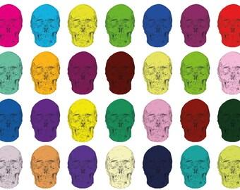 Sugary Sweet Skulls - Print by Matthew Hodge
