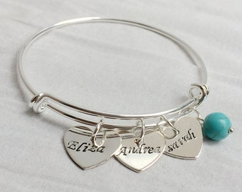 Mom Gift for mother, mom jewelry, Personalized womens jewelry, personalized jewelry, new mom gift, mama gift, Custom gift for her mom bangle