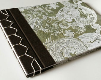 Book binding in Japanese sewing