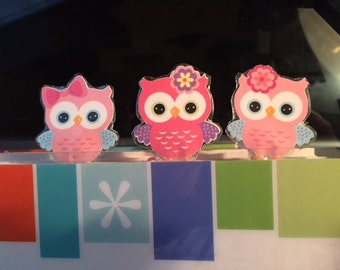 Owl Paper Clips for Your Planner
