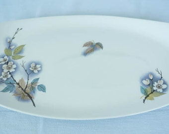 1950's Vintage MIDWINTER STYLECRAFT Orchard Blossom #No 2-62 Serving Platter