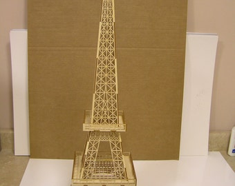 "Eiffel Tower, 31"" tall x 9"" base"