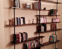 Industrial bookshelf (The Kennewick)