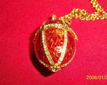 MMA FABERGE EGG pendant..exquisite detail..