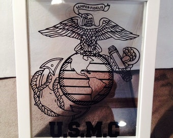 8x10 TRULY BEAUTIFUL Marine Picture