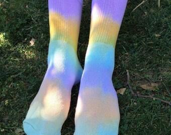 Pastel Tie Dyed Socks