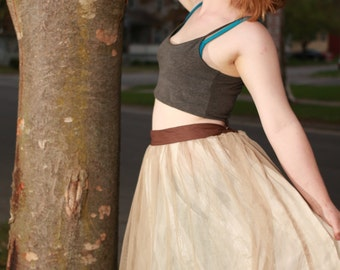 French style tulle Skirt