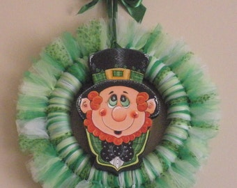 Little Patrick Mutli Tulle Wreath  HAFAIR