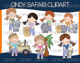 Cindy safari clipart