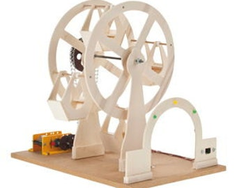 Mini ferris wheel with chain drive kit to promote your child and to remember your childhood