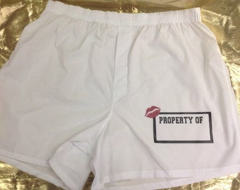 Personalized Boxer Shorts property of you