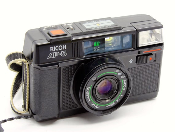 ricoh af 5 35mm auto focus compact camera with by. Black Bedroom Furniture Sets. Home Design Ideas
