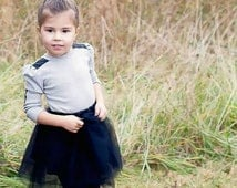 Girls Tulle Skirt, Mommy Daughter Skirt, Mommy and Me Outfit, Black Tulle Skirt, Tulle Tutu, Princess Tulle Skirt, Matching Outfits