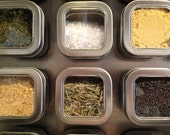 Large Wall Spice Rack 12x24 Magnetic Spice Rack Kitchen Wall Art Kitchen Wall Decor Spice Storage Unique Kitchen Wall Decor Colorful Kitchen