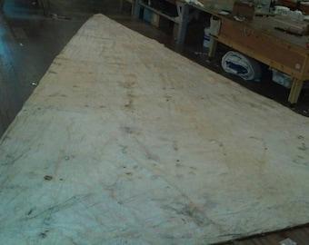 Antique all cotton sail, main