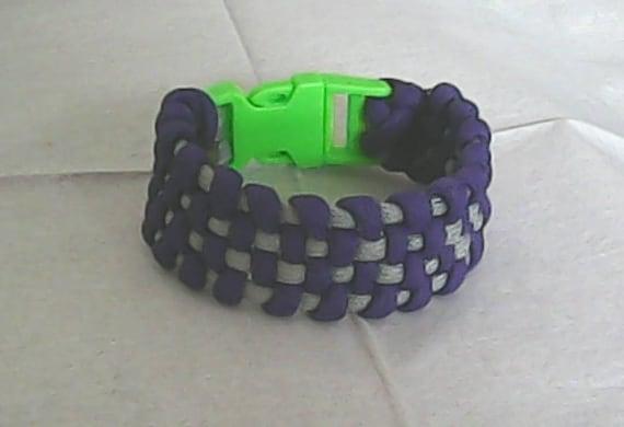 Basket Weave Paracord Bracelet Tutorial : Items similar to wide basket weave paracord bracelet on etsy