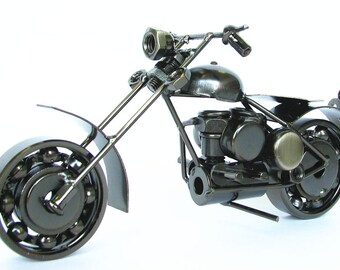 New Handmade Classic Harley Davidson Motor Model Decoration 13
