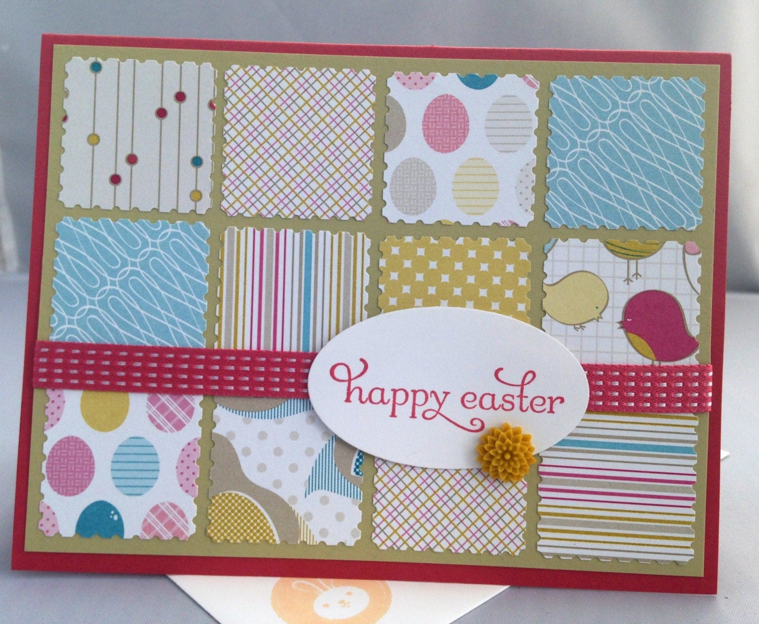 easter sentiments for handmade cards stin up handmade greeting card easter card 8521