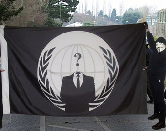 Anonymous Flag (5'x8')