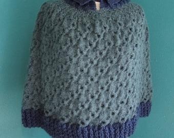 Cable me a Poncho Knit pattern