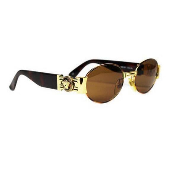 articles similaires lunettes de soleil versace vintage s71 31l sur etsy. Black Bedroom Furniture Sets. Home Design Ideas