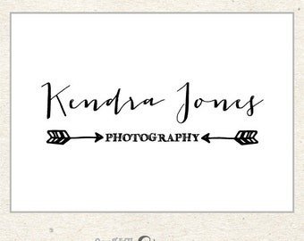 Arrow Logo, Premade Logo Design, Custom Logo Design for Photographers and Boutiques