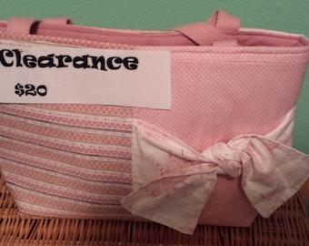 Pink Bag with pink liner