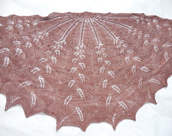 Brownie Merino Silk Lace Shawl