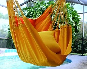 Banana Split - Fine Cotton Hammock Chair, Made in Brazil