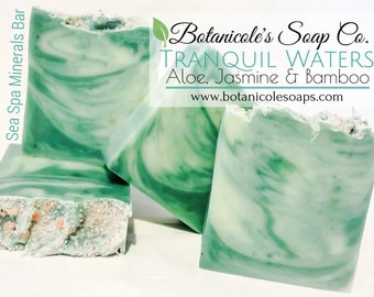 Tranquil Waters {Aloe, Jasmine & Bamboo} Spa Minerals Bar