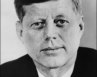 24x36 Poster; John F. Kennedy, 1961