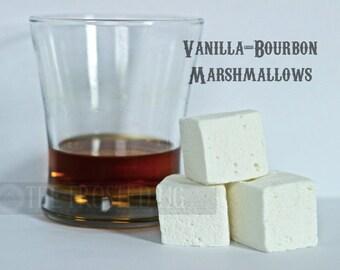 Bourbon-Vanilla-Handcrafted Gourmet Marshmallows