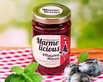Mint plum jam jam