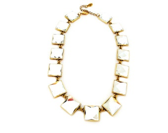 Show Stopping Statement Glass Necklace